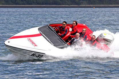 Stockists of 007 Powerboat Adventure Day
