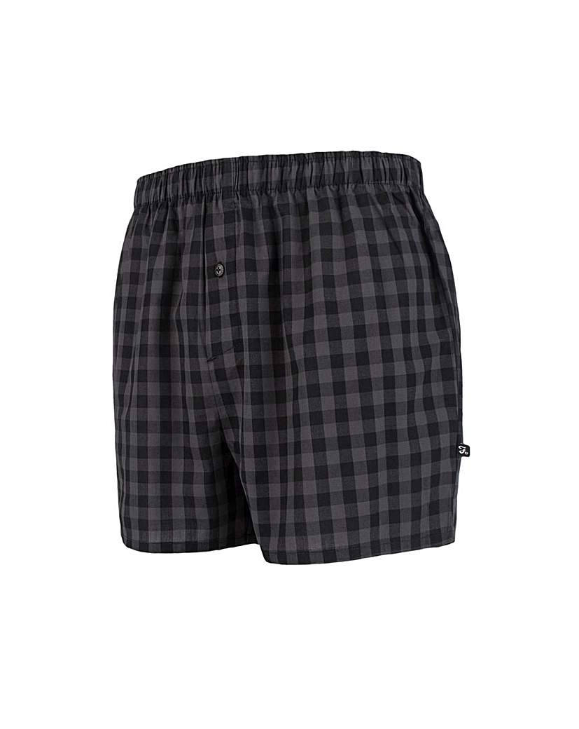 Stockists of 2 Pack Farah Woven Boxer