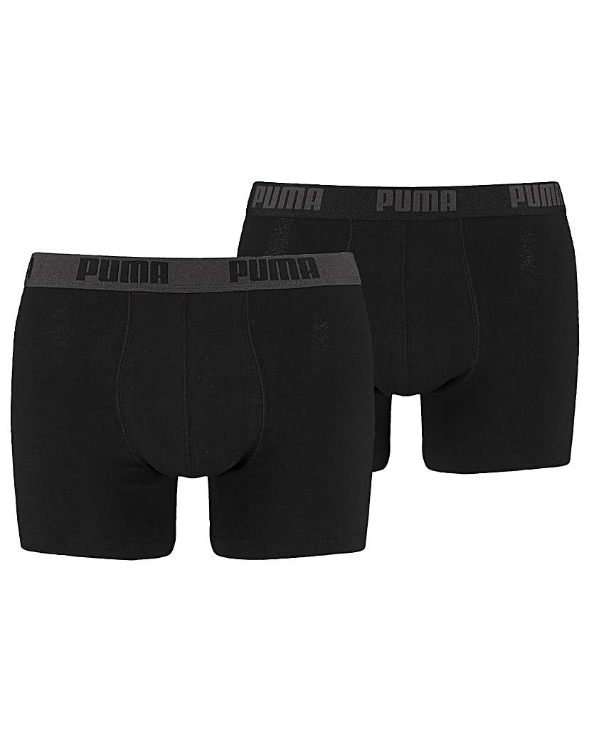 Stockists of 2 Pair Puma Basic Boxer Shorts