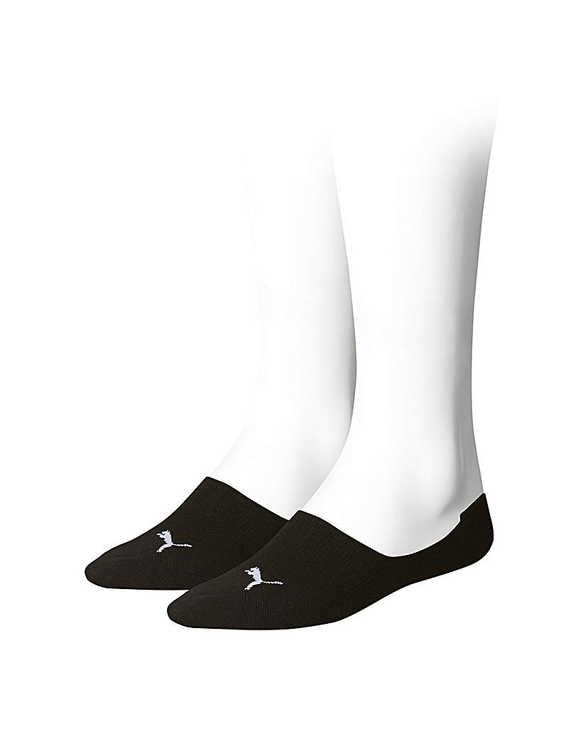 Stockists of 2 Pair Puma Footies Trainer Socks