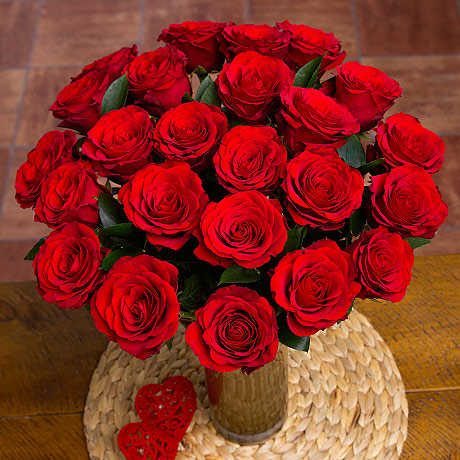 Stockists of 24 Red Roses