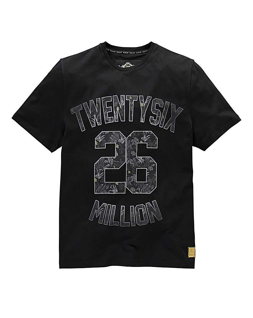 Stockists of 26 Million Dangelo Black T-Shirt