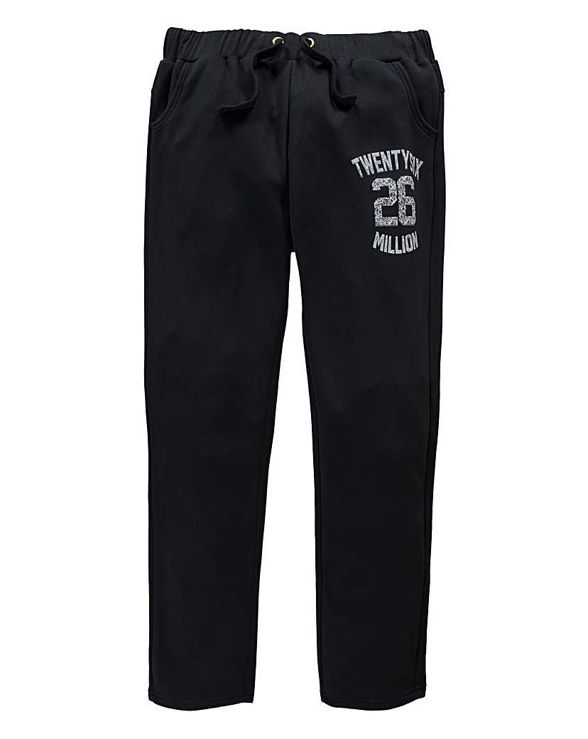 Stockists of 26 Million Knight Black Jog Pants