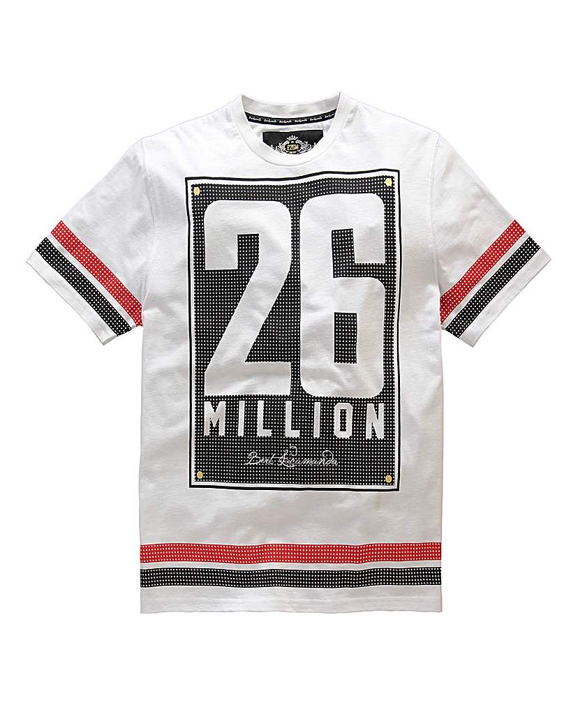 Stockists of 26 Million Praag White T-Shirt