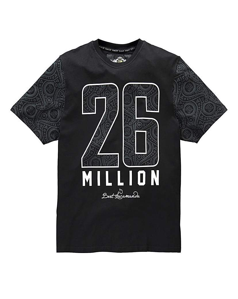Stockists of 26 Million Yofi Black T-Shirt