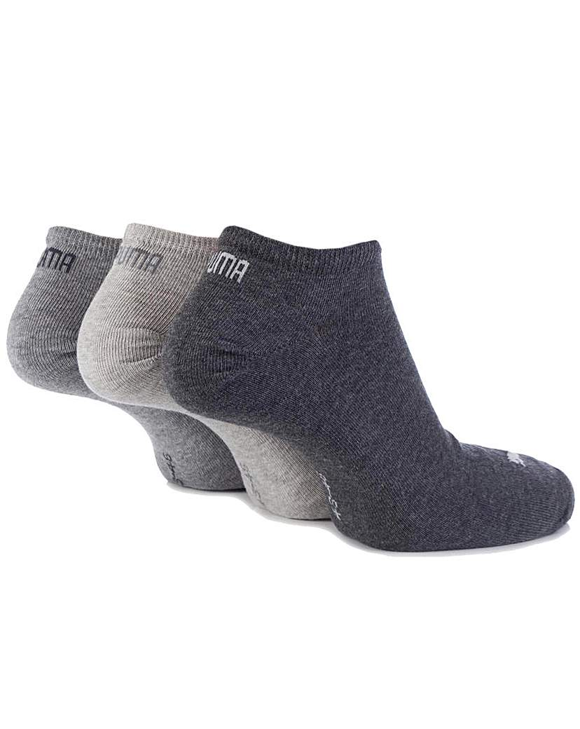 Stockists of 3 Pair Puma Invisible Sneaker Socks
