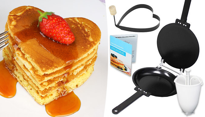 Bargain 4-Piece Pancake Making Set - 1 or 2 Stockists
