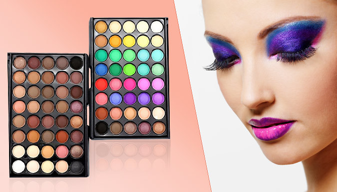 Bargain 40-Colour Professional Eyeshadow Palette Stockists