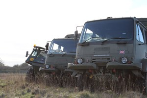 Bargain 4x4 Army Truck Rough Terrain Driving Experience for One Stockists