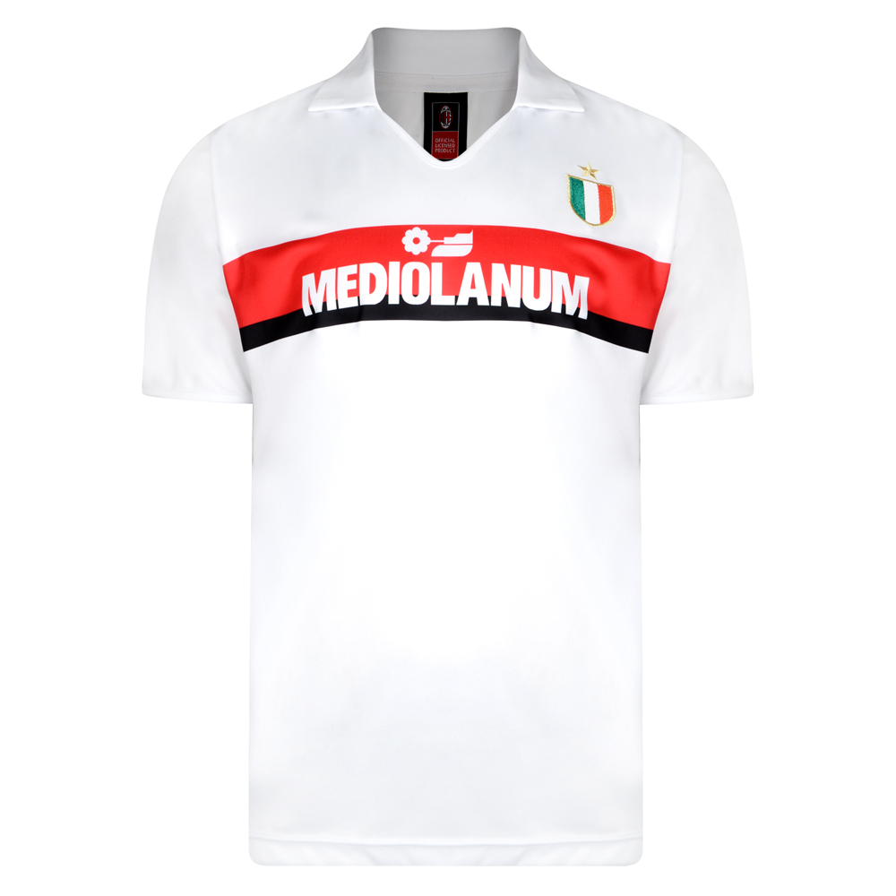 Bargain AC Milan 1988 Away Retro Football Shirt Stockists