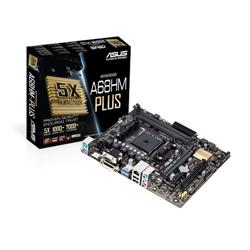 Bargain ASUS A68HM PLUS   motherboard   micro ATX   Socket FM2+   AMD A68H Stockists