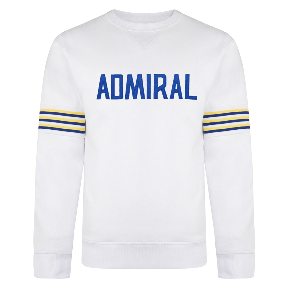 Best Admiral 1974 White Club Sweatshirt Stockists