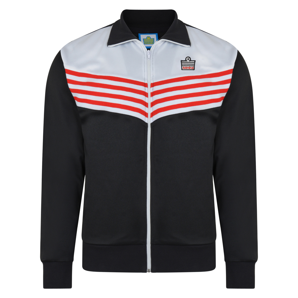 Bargain Admiral 1976 Black Club Track Jacket Stockists