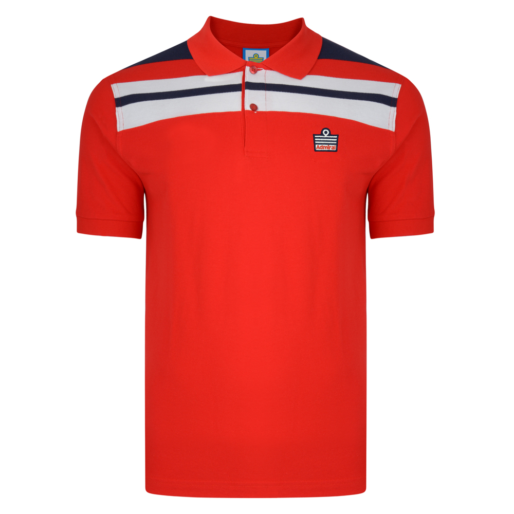 Best Admiral 1982 Red England Polo Stockists