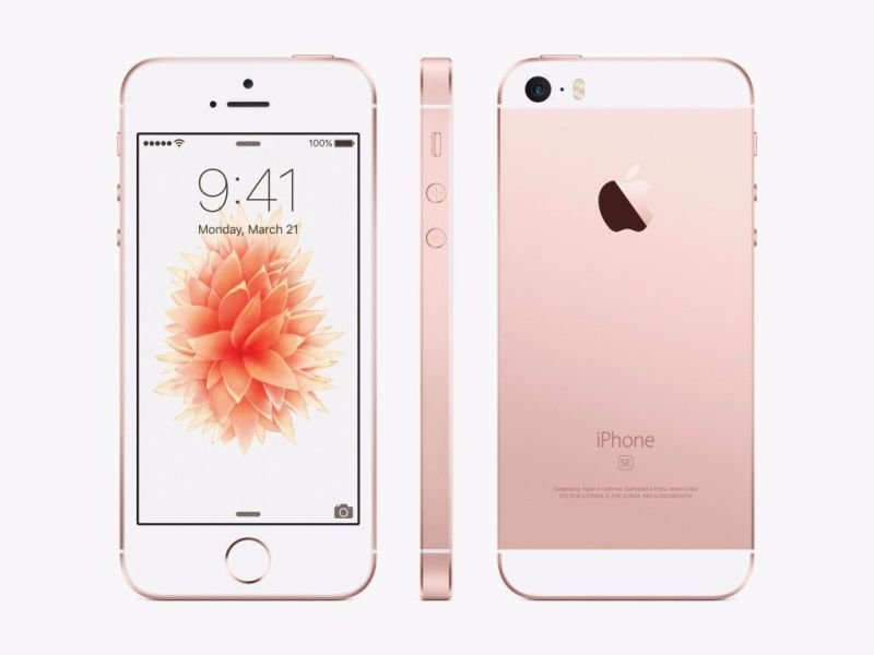 "Bargain Apple iPhone SE 4"" 16GB   Rose Gold Stockists"