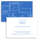 Stockists of Architects Business Cards, 50 qty