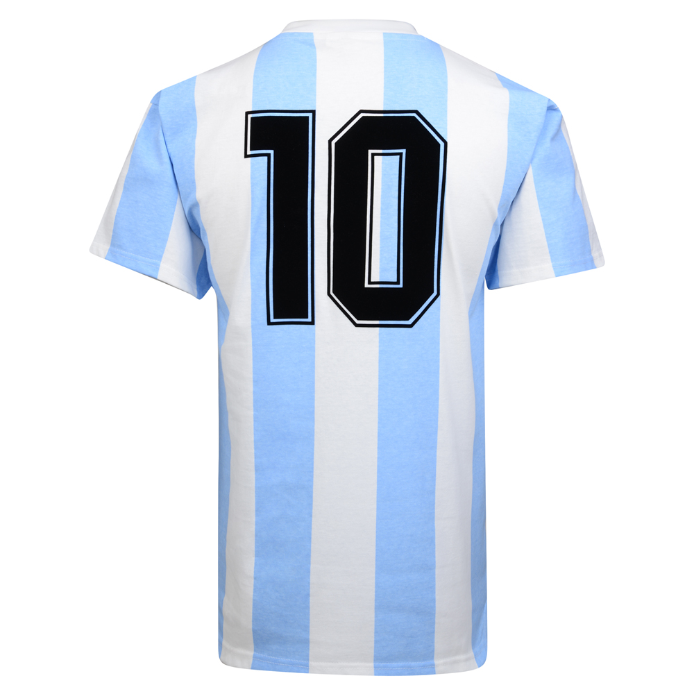 Bargain Argentina 1986 World Cup Final No10 shirt Stockists