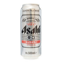 Stockists of Asahi Super Dry Beer