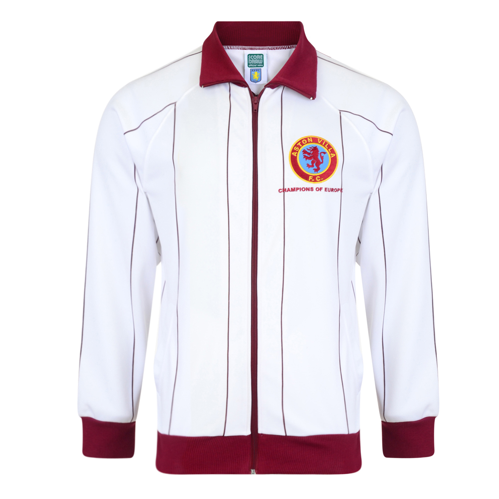 Bargain Aston Villa 1982 Away Retro Football Track Jacket Stockists
