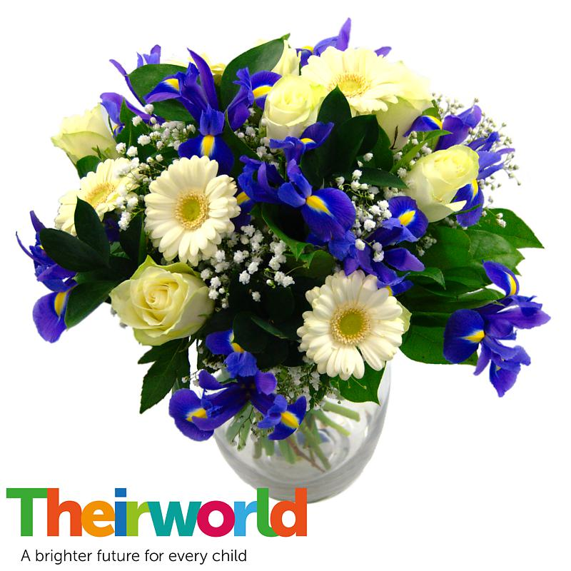 Stockists of Baby Boy Flowers with Theirworld