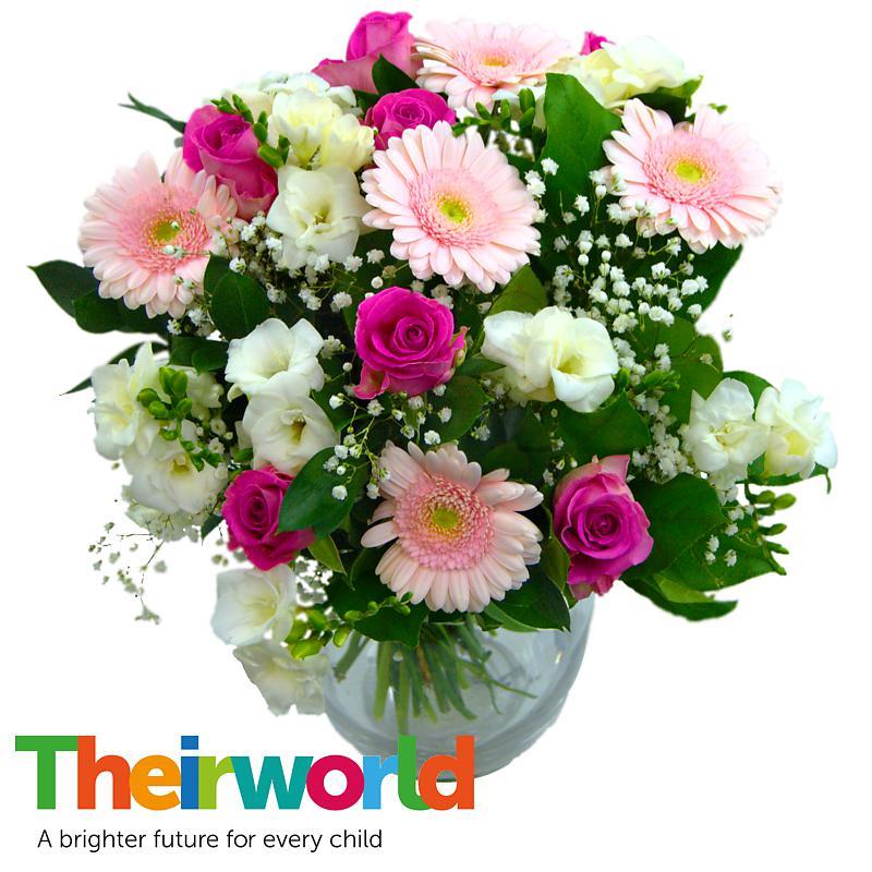 Stockists of Baby Girl Flowers with Theirworld