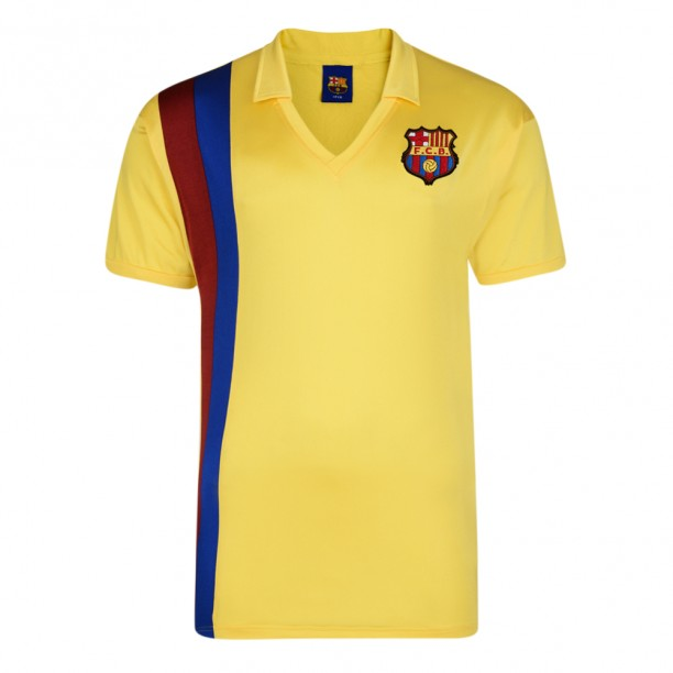 Best Barcelona 1982 Away Retro Football Shirt Stockists