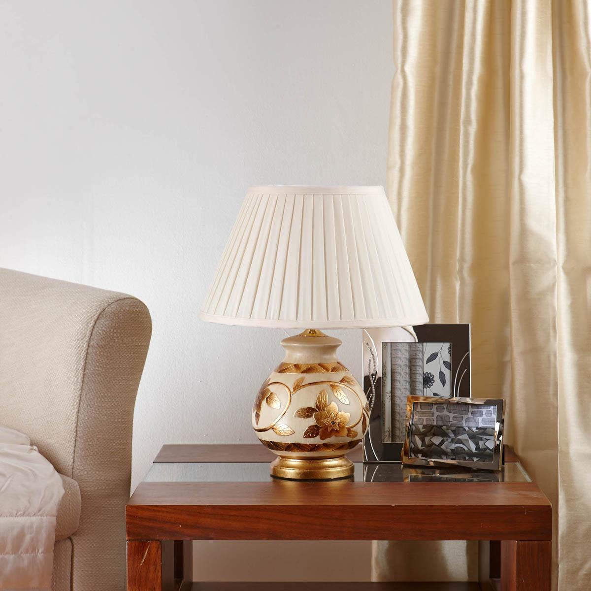 Stockists of Beige Christabelle Table Lamp