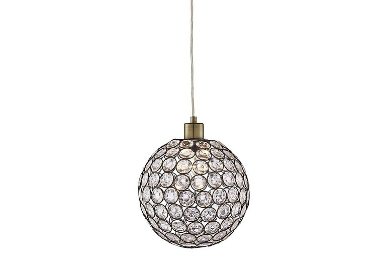 Bargain Bellis Antique Brass Ceiling Light Stockists