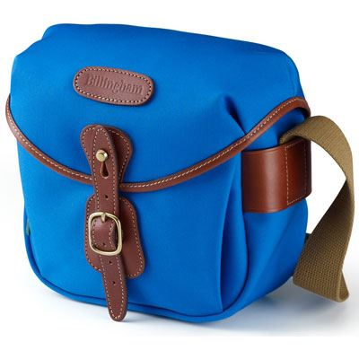 Bargain Billingham Hadley Digital   Imperial Blue / Tan Stockists