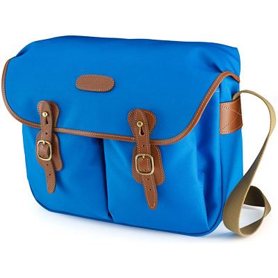 Bargain Billingham Hadley Large - Imperial Blue / Tan Stockists