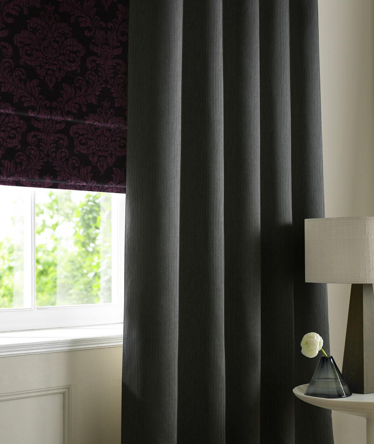 Stockists of Black Jazz Made to Measure Curtains