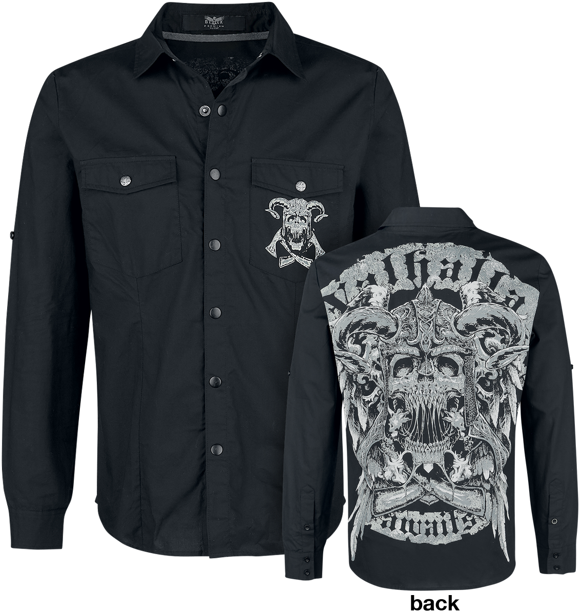 Bargain Black Premium by EMP - There Is No Business Like Rock Business - Shirt - black Stockists