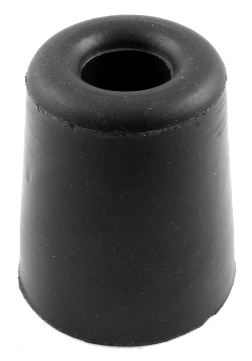 Bargain Black Rubber Conical Shaped Door Stop or Buffer Stockists