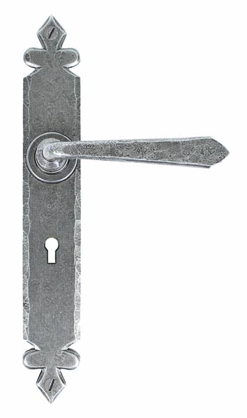 Bargain Blacksmith Pewter Patina Cromwell Lever Door Handle Stockists