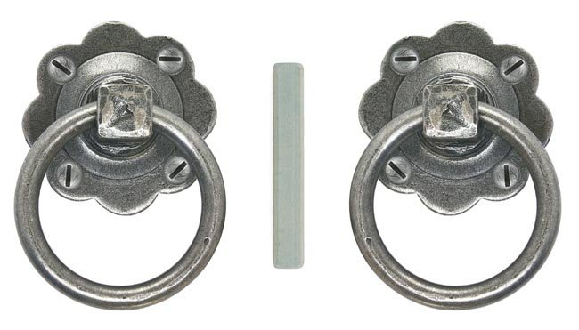 Bargain Blacksmith Pewter Patina Ring Handle Set Stockists