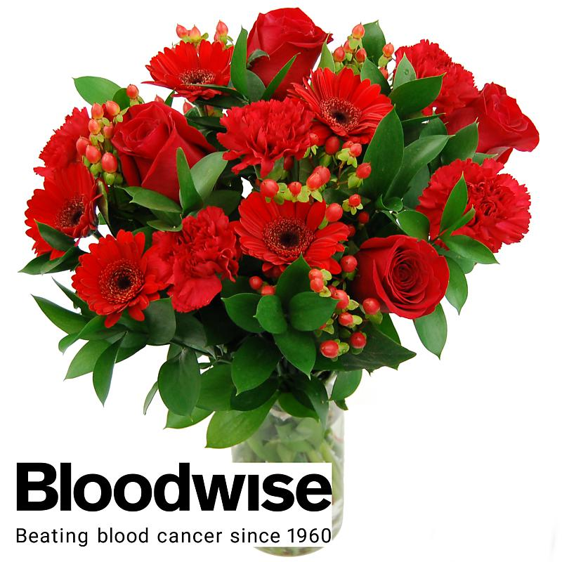 Stockists of Bloodwise Charity Bouquet