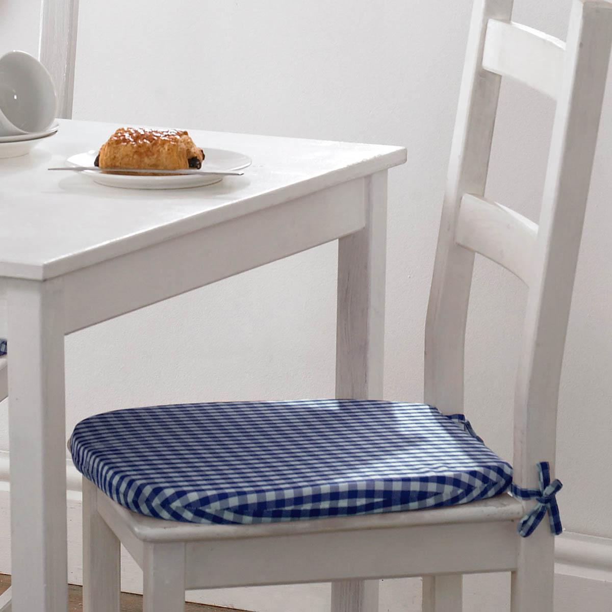 Stockists of Blue Gingham Value Seat Pad