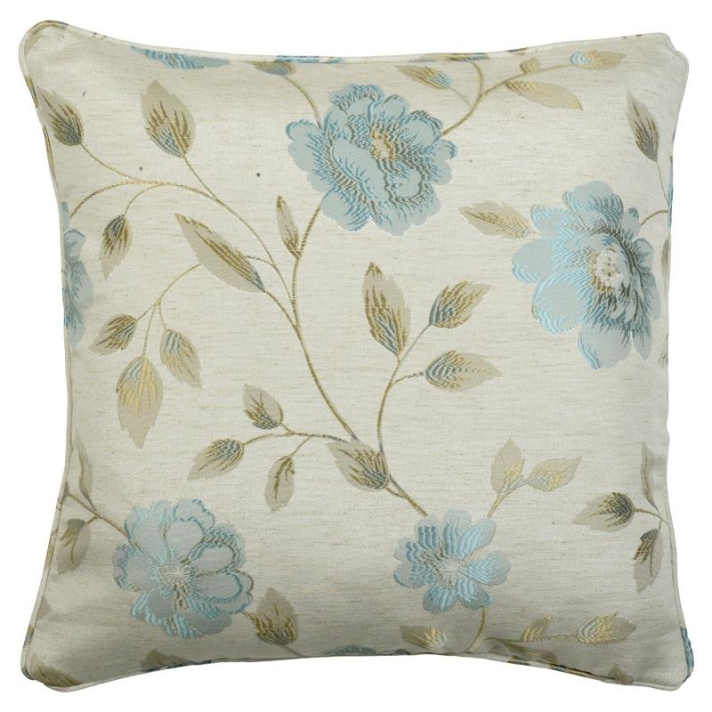 Bargain Blue Hereford Filled Cushion Stockists