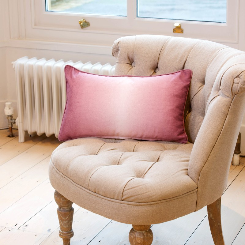 Stockists of Blush Ombre Watercolour Filled Boudoir Cushion