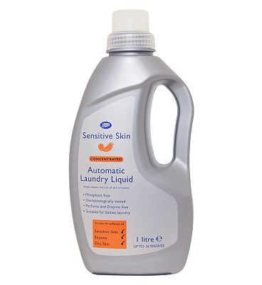 Bargain Boots Sensitive Skin Laundry Liquid   1litre Stockists