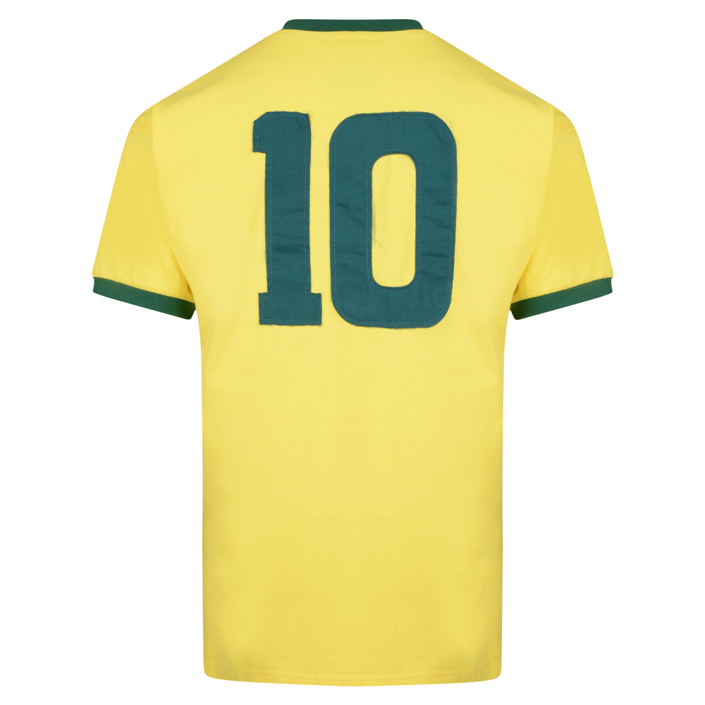 Bargain Brasil 1970 World Cup Final No10 shirt Stockists