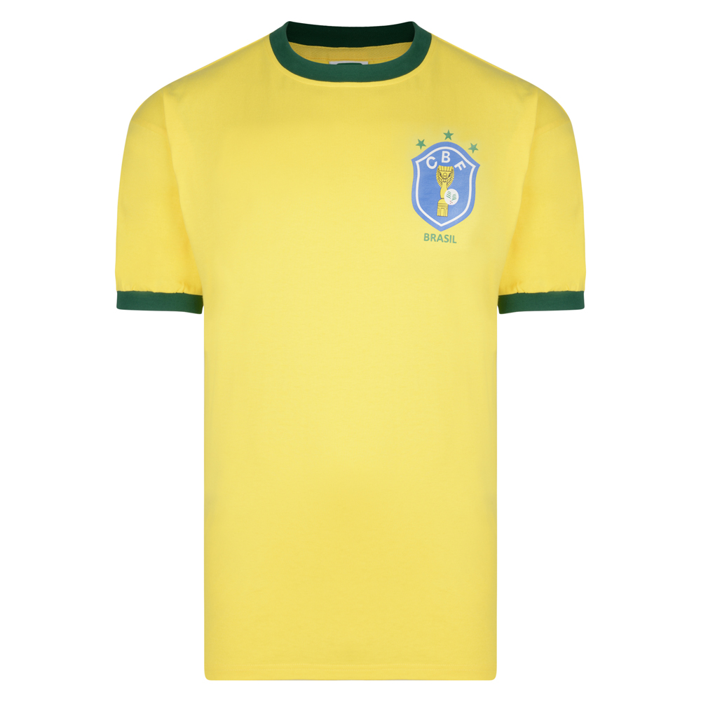 Stockists of Brasil 1982 World Cup Finals shirt