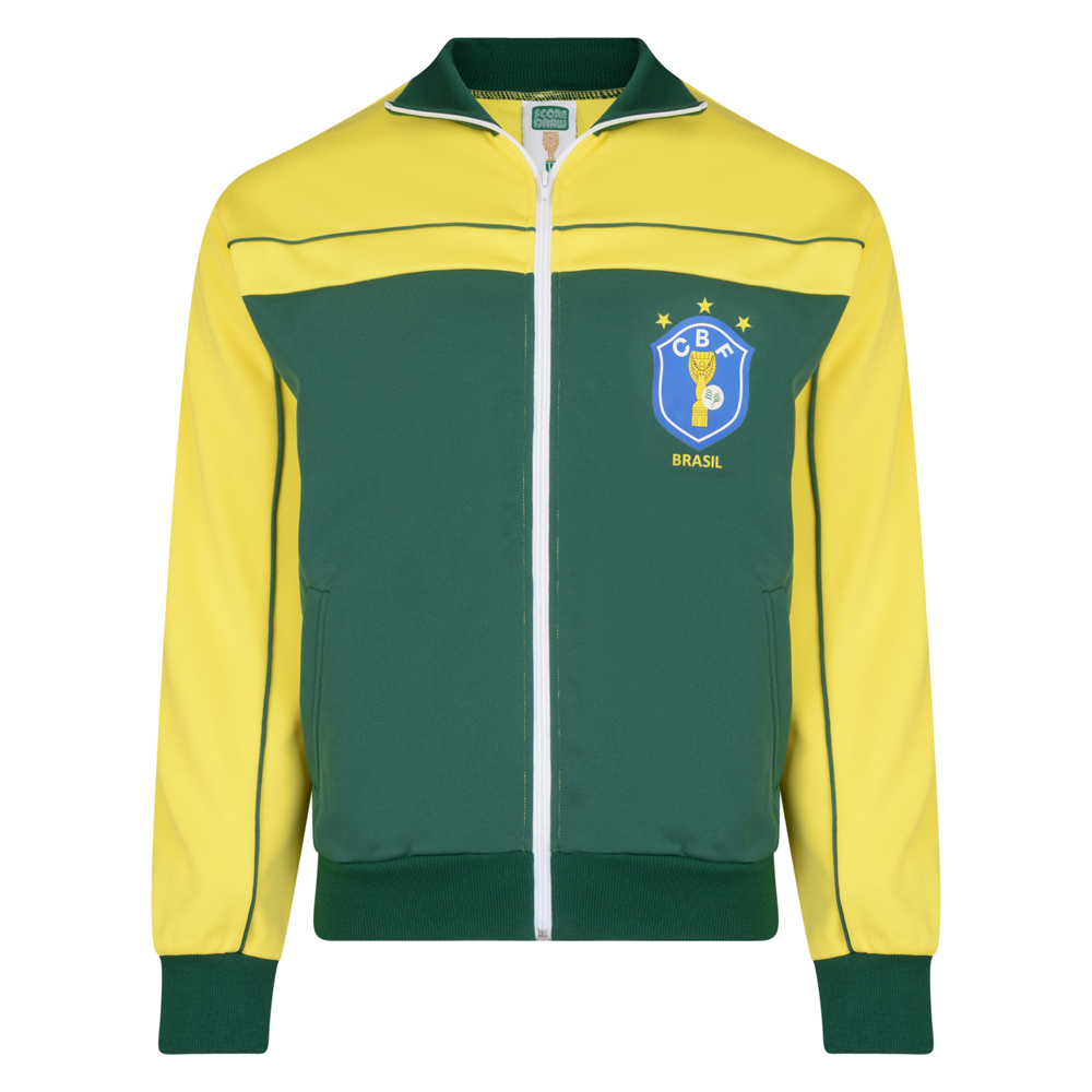 Best Brasil 1986 World Cup Finals Track Jacket Stockists