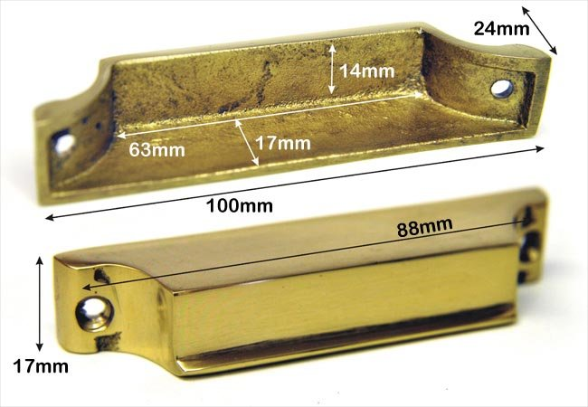 Bargain Brass Rim Lock Keep Number 4 Stockists
