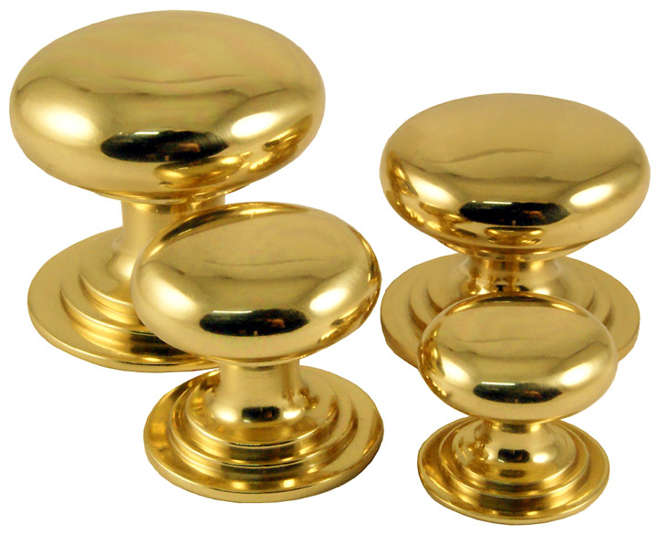 Stockists of Brass Victorian Cupboard Knobs