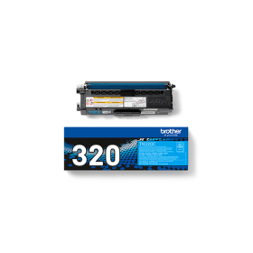Bargain Brother TN 320C Original Cyan Toner Cartridge Stockists
