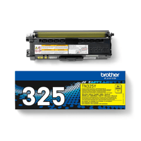 Bargain Brother TN 325Y Original High Capacity Yellow Toner Cartridge Stockists