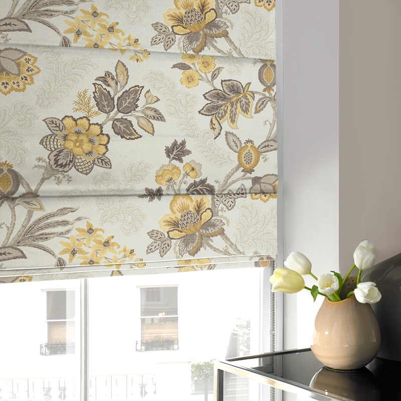 Stockists of Buttercup Proto Roman Blind