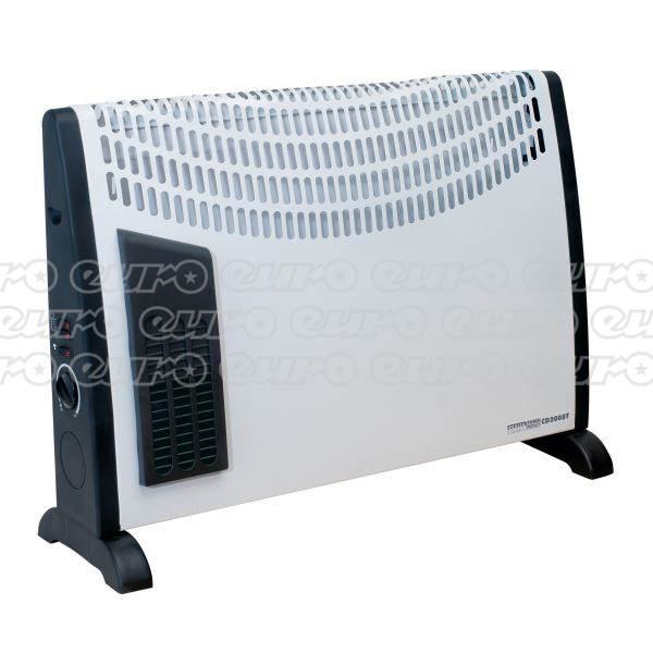 Bargain CD2005T Convector Heater 2000W 3 Heat Settings Thermostat Turbo Fan Stockists