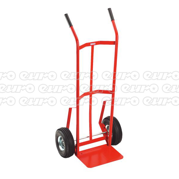 Bargain CST987 Sack Truck with 250 x 90mm Pneumatic Tyres 200kg Capacity Stockists